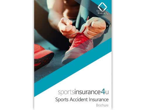 Sports Accident Insurance Brochure