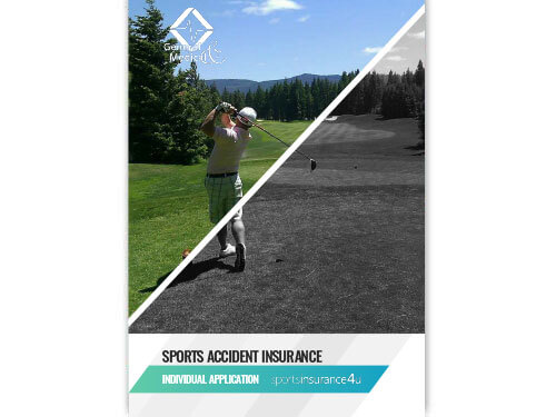Sports Accident Insurance Player Application