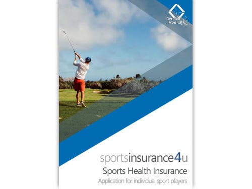 Sports Health Insurance Application for Players