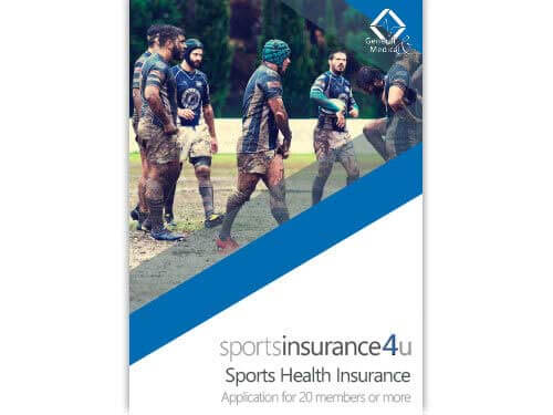 Sports Health Insurance Application for Teams